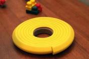 Kids Edge Cushion Padding 2.5cm x 2.5cm .YELLOW 30.48m W/Tape