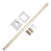 New - Stairway Gate Installation Kit - No Drilling by Kidco