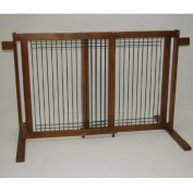 Freestanding Wood/Wire Pet Gate Size
