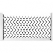 Single Folding Security Gate 7-1/2' X 6-1/2'