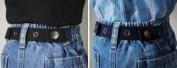 Dapper Snapper Toddler Belts (2 Pack) Navy & Black