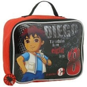 Go Diego Go! Tarantula Rectangular Lunch Kit - Red & Black