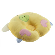 YKS Pig Shaped Infant Toddler Sleeping Support Pillow Prevent Flat Head Yellow