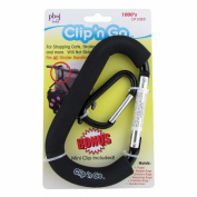 Clip'n Go Stroller Hook, Black by PBnJ baby