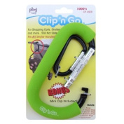 Clip'n Go Stroller Hook, Green by PBnJ baby