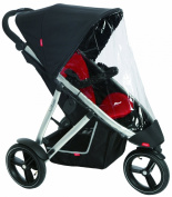phil & teds Stormy Weather Cover for Single Vibe Stroller