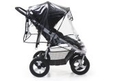 Bumbleride Non-PVC Rain Shield for Indie Twin Stroller