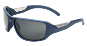 Bolle Smart Sunglasses, Polarised TNS Gun AF, Matte Blue