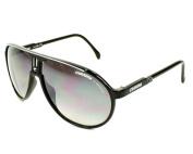 Carrera BSC Black Silver Champion Aviator Sunglasses