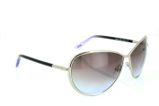 Tom Ford Women's M.FT0181, Silver/Pink Graduated, One Size