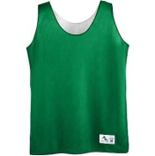 Girls Reversible Mini Mesh League Tank - KELLY LARGE