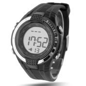 Heart Rate Monitor Sports Watch with Elastic Chest Belt