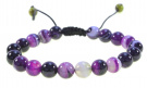 Amethyst Gemstone Bracelet Good for Healing and Energy- 91008