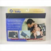 Black Changing Station Portable by Especially for Baby