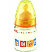 Nuk First Choice 120ml Glass Feeding Bottle with Latex Teat