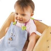Kippiis Baby Toddler Bib Clips Magenta/Lime