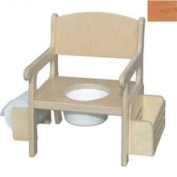 Little Colorado 028NA Handcrafted Potty Chair with Accessories in Natural