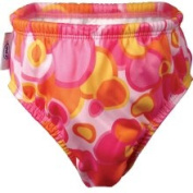 Finis Girls Swim Nappy in Pink Bubble Size