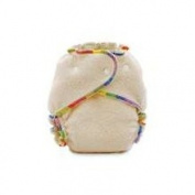 Kissaluvs Fitted Cloth Nappies - M/L - Unbleached