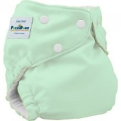 FuzziBunz One Size Nappy, Mint, 3.2-16kg