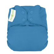 bumGenius Freetime All-In-One One-Size Snap Closure Cloth Nappy - Moonbeam