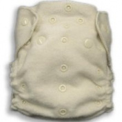 Organic Caboose 3003 Organic Cotton One-Size Fitted Cloth Nappy with Snap-in Insert