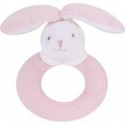 Angel Dear Ring Rattles Pink Bunny