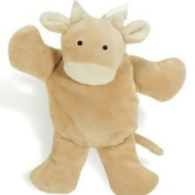 North American Bear Company Flatocow Plush Rattle