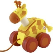 Sevi Mini Pull Along Toy, Giraffe