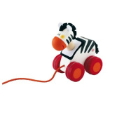 Sevi Mini Pull Along Zebra Toy