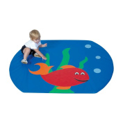 Children S Factory CF362-175 Fish Bowl Mat