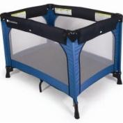 Foundations - 1451037 - Play Yard Crib, Blue, 1.9cm . Mattress