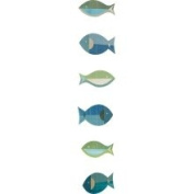 Petit Collage Fish on A Line Paper Strand Mobile
