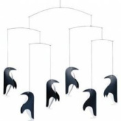Flensted Mobiles Nursery Mobiles, Penguin In Tails