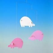 Flensted Mobiles Pink Piggy Mobile