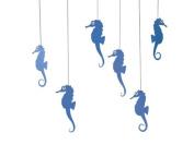 Flensted Mobiles Sea Horse Mobile, Blue