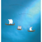 Flensted Mobiles Viking Mobile with 3 Ships