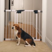 Pet Studio Dog Puppy Gate Extension White Small