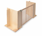 Whitney Brothers Birch Laminate Toddler Room Divider