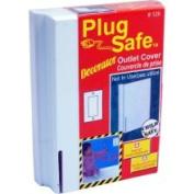 Plug Safe Decorator Outlet Cover for Décor Outlets
