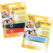 Baby Buddy Secure-A-Toy Straps 4ct for 6-36 months
