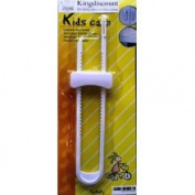 Kingdiscount K1159 Childproofing Safety Lock Safety Clamp for Two-Winged Doors