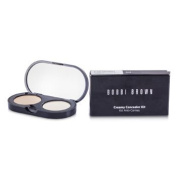 New Creamy Concealer Kit - Sand Creamy Concealer + Pale Yellow Sheer Finished Pressed Powder, 3.1g/35ml