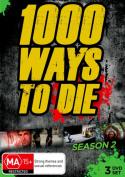 1000 Ways To Die: Season 2 [Region 4]