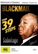 Blackmail (1929) / Sabotage (1936) / The 39 Steps (1935)  [Region 4]