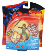 How To Train Your Dragon Movie 10cm Series 3 Action Figure Hiccup with Shield Sword
