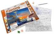 Royal & Langnickel Painting by Numbers Adult Large Art Activity Kit, Waterside Lighthouse