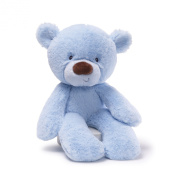Lil Fuzzy Bear Blue 36cm by Gund