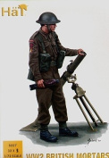 HaT WWII British Mortar Team - 1:72 Plastic Soldier Kit