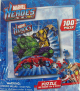 Marvel Heroes 100 Piece Puzzle